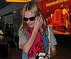 Photo Slide of Kate Bosworth at Heathrow Airport