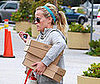 Photo Slide of Reese Witherspoon Leaving an LA Gym