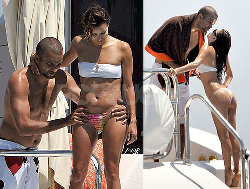 Bikini Photos of Eva Longoria with Shirtless Tony Parker on Vacation in St. Tropez