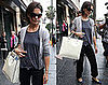 Photos of Katie Holmes Leaving a Dance Class in LA