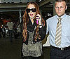 Photo Slide of Lindsay Lohan Arriving in London