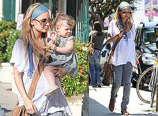 Photos of Nicole Richie and Harlow Madden in LA 2009-06-03 07:45:00