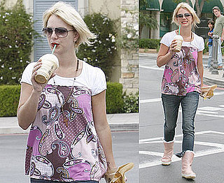 Photos of Britney Spears at Starbucks in LA