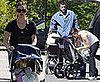 Photos of Ben Affleck and Jennifer Garner with Daughters Seraphina and Violet in Boston