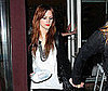 Photo Slide of Ashlee Simpson Leaving Il Sole in LA