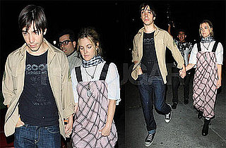 Photos of Drew Barrymore and Justin Long Leaving a Green Day Concert Holding Hands