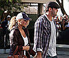 Photo Slide of Jessica Simpson and Tony Romo Heading to the Lakers Playoff Game
