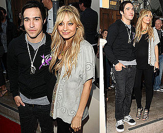 Photos of Nicole Richie and Pete Wentz at Combined House of Harlow and Clandestine Industries Show