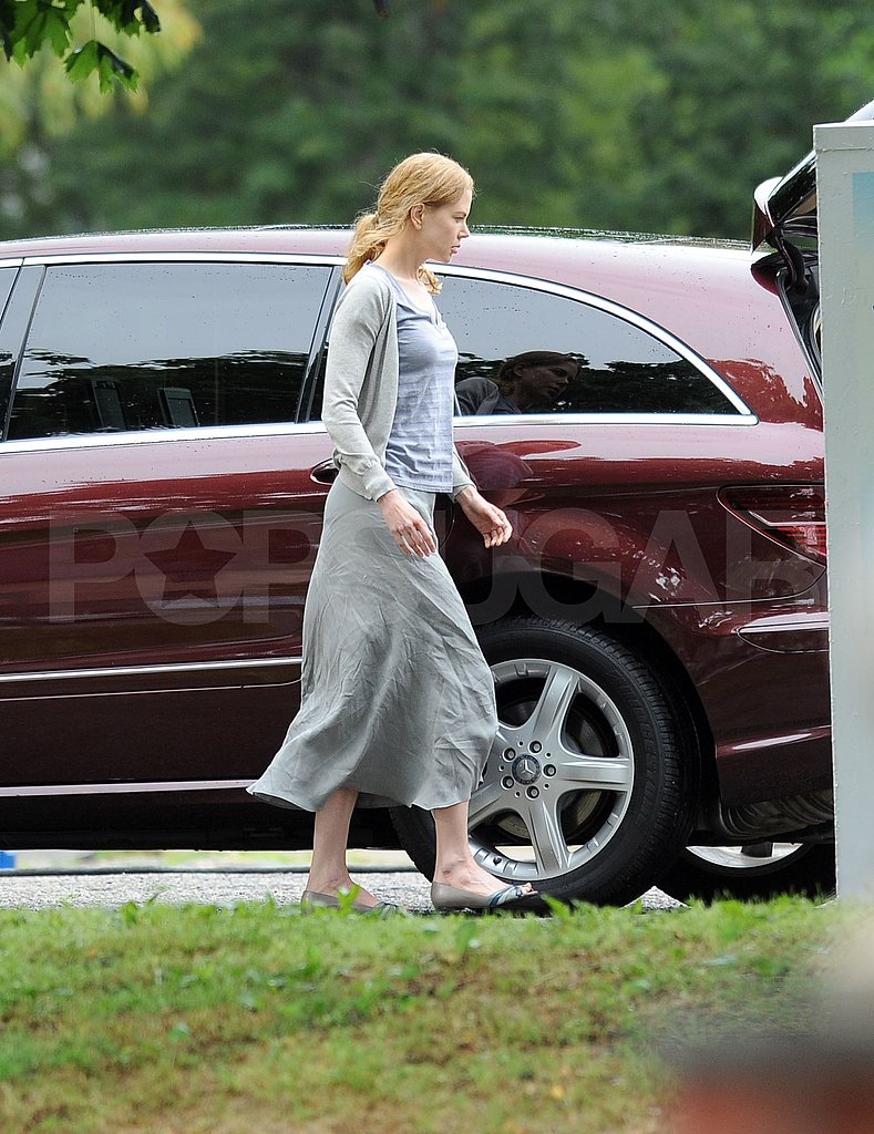 Nicole Kidman On the Set