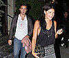 Photo Slide of Ed Westwick and Jessica Szohr Leaving LA&#039;s Koi