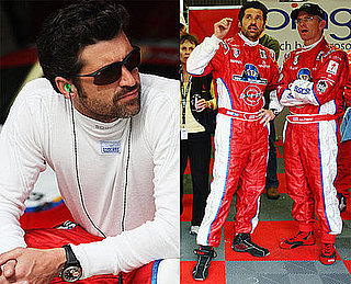 Photos of Patrick Dempsey at the Le Mans 24 Hour race at the Circuit des 24 Heures du Mans