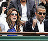 Photo Slide of Eva Longoria and Tony Parker at the French Open