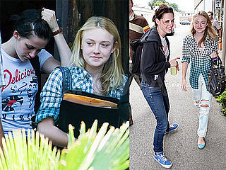 Kristen Stewart and Dakota Fanning Out in LA