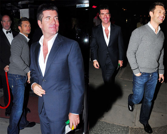 Simon and Ryan at a Strip Club