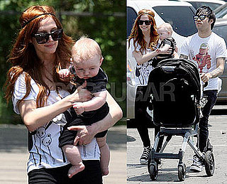 Photos of Ashlee Simpson, Pete Wentz, Celebrity Baby Bronx Wentz In LA