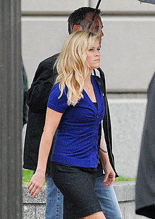 Photos of Reese Witherspoon Filming How Do You Know in Washington DC