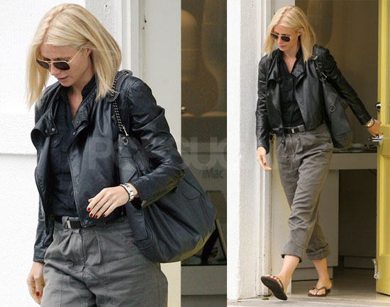 Gwyneth Leaves the Salon