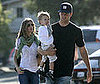 Slide Photo of Tom Brady, John Brady, and Gisele Bundchen on Father's Day
