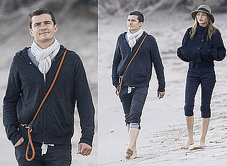 Photos of Orlando Bloom and Miranda Kerr on The Beach