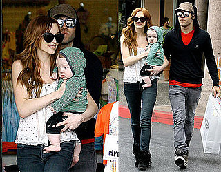 Photos of Pete Wentz, Ashlee Simpson and Bronx Wentz in LA