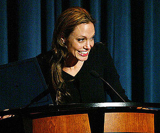 Photo Slide of Angelina Jolie at World Refugee Day at the National Geographic Society in Washington DC