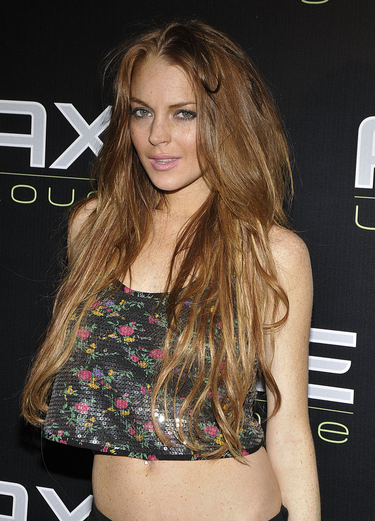 Lohan on Axe