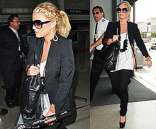 Photos of Jessica Simpson at LAX