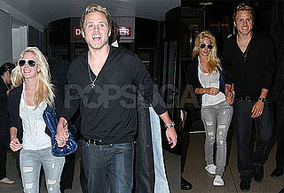 Photos of Heidi Montag and Spencer Pratt Arriving at LAX