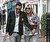 Photo Slide of Kate Moss and Jamie Hince Together in London
