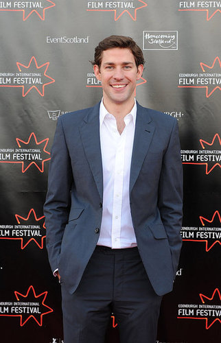 Photos of John Krasinski in Scotland For the 2009 Edinburgh Film Festival