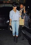 Rihanna Goes to Dinner