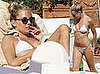 Sienna Miller in White Bikini