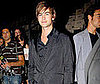 Photo Slide of Chace Crawford at Emporio Armani Show During Milan Menswear Fashion Week
