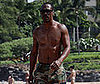 Photo Slide of Eddie Murphy Shirtless in Hawaii