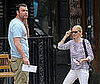 Photo Slide of Naomi Watts and Liev Schreiber Getting Coffee in NYC