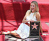 Slide Photo of Cameron Diaz on the Hollywood Walk of Fame