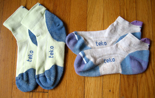 "Review of Teko ""Green"" Sport Socks"
