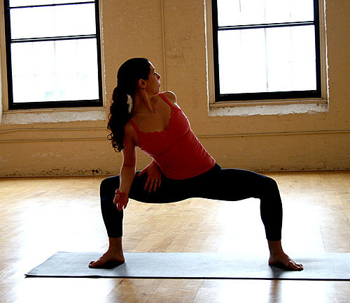 Yoga Pose of the Week: Twisting Goddess