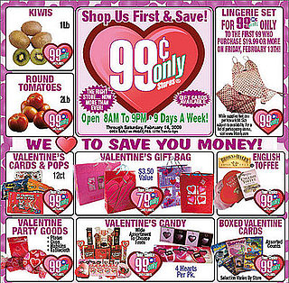 Valentine's Day Gifts Tips From the 99 Cent Store