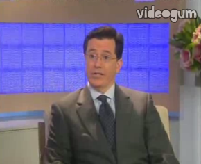 Stephen Colbert Teaches Us the Past Tense of Tweet