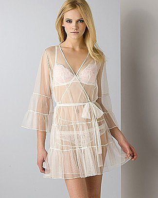 Betsey Johnson Tulle Wrap Robe - Women's - Bloomingdales.com