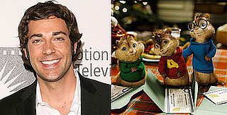 Zachary Levi Cast in Alvin and the Chipumunks: The Squeakquel Sequel