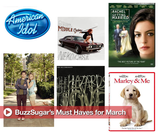 BuzzSugar's Must Haves For March