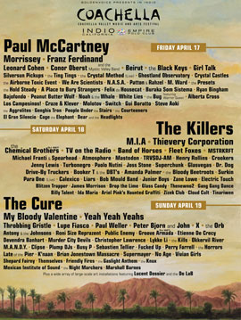 Coachella 2009: A Playlist