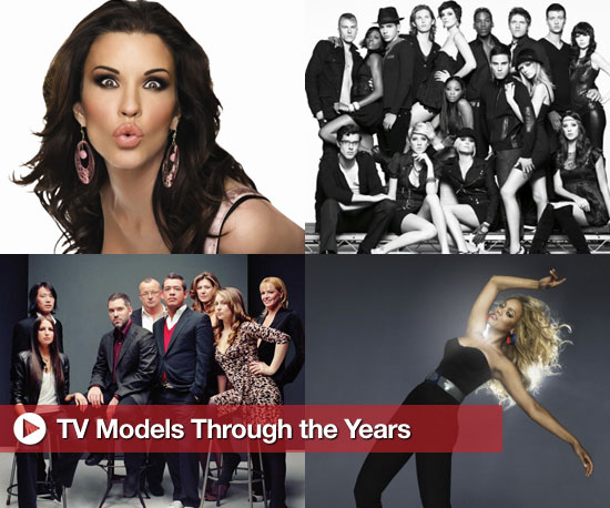 TV Models Through the Years