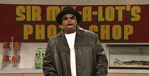 Saturday Night Live Gets Into Software Spoofing With Sir Mix-a-Lot's Photo Shop