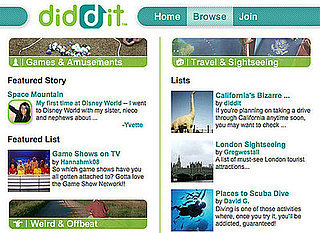 Website of the Day: Diddit