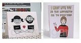 Geeky V-Day Cards