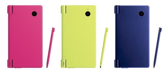 Nintendo DSi's Hot New Colors Unveiled