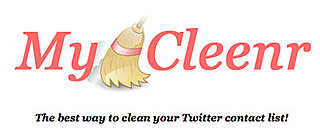 Use MyCleenr to Cleanse Your Twitter Account